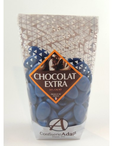 CHOCOLAT EXTRA 54% BLEU ROY 250g .
