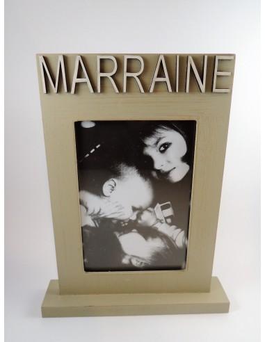 CADRE PHOTO MARRAINE .