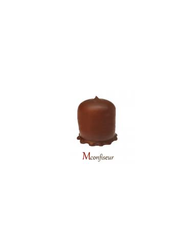 9 BOULES MOUSSE CHOCOLAT NOIR 230G  .