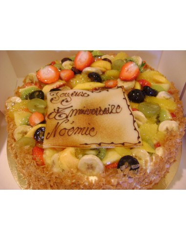 GENOISE AUX FRUITS 8PERS