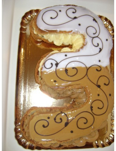ECLAIR GEANT  CHIFFRE / 12PERS