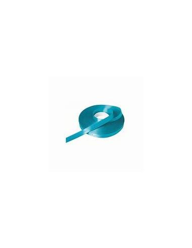 Ruban satin 100m 6mm turquoise