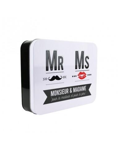 BOITE METAL MR  et   MS.