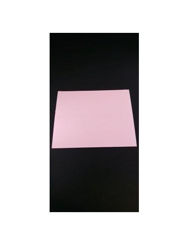LOT DE 25 CARTES DE TABLE NACRE ROSE...