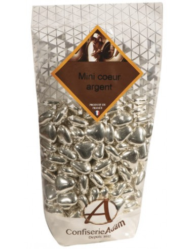 DRAGEES COEUR ARGENT 250g .